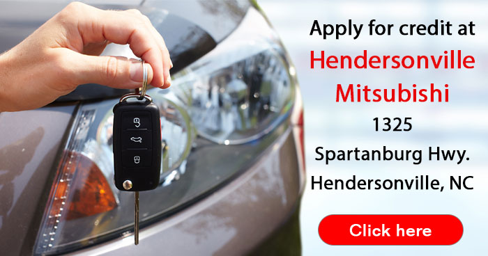 apply for a car loan at Hendersonville Mitsubishi