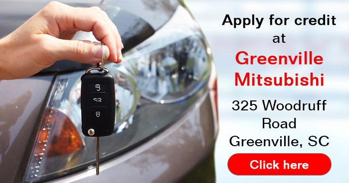 apply for a car loan at Greennville Mitsubishi