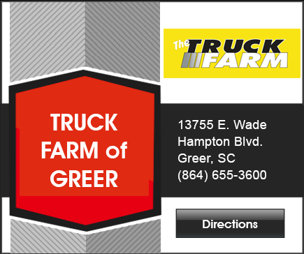 Truck Farm Greer map